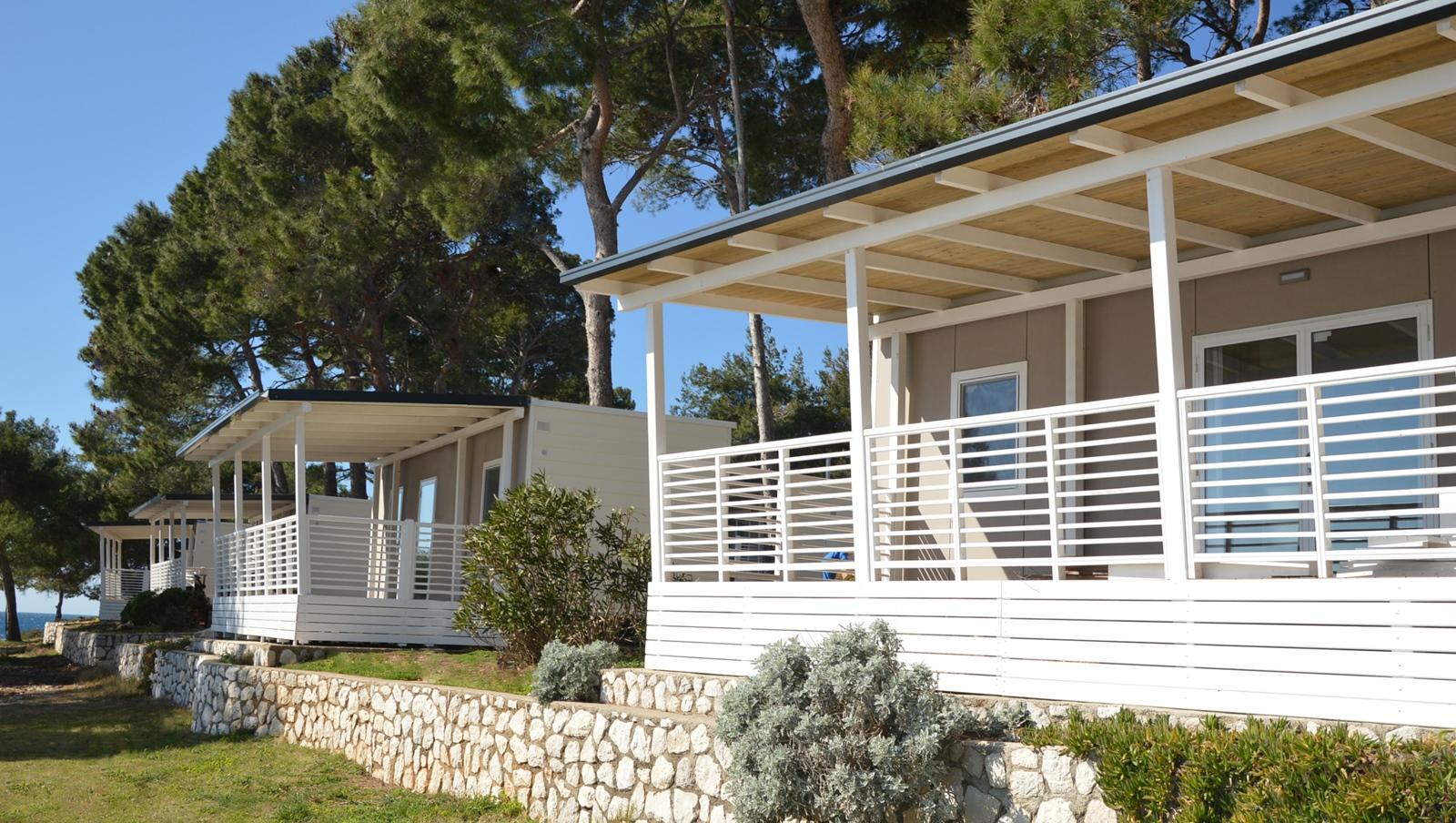 Mobilheime zum Mieten für Campingurlaub auf Lošinj